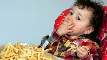 Copiii fast food