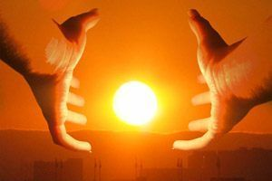 Umbre pe cadranul solar