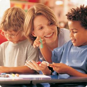 profesor-copii