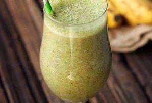 Milkshake cu broccoli si banane