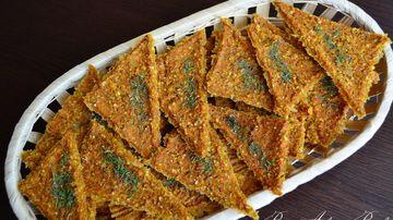Crackers cu porumb