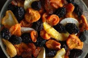 fructe uscate - zahar