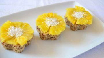 Cupcakes cu cocos si ananas