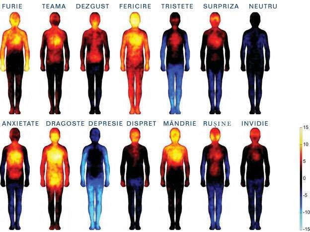 harta emotiilor