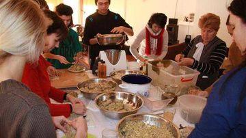 Tabara de gatit interactiv - Sighisoara, noiembrie 2014