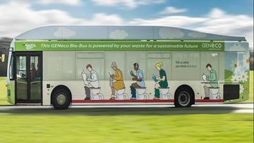Bio-Bus: primul autobuz alimentat cu materii fecale umane