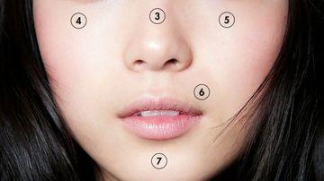 Harta feţei - ce-ti spun erupţiile cutanate de pe fata despre sanatate