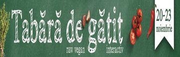 Ligia Pop, invitat special la tabara de gatit interactiv: 28 noiembrie - 1 decembrie, Sighisoara