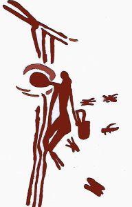 Pictura rupestra veche de 8 000 de ani din pestera Araña din Spania.