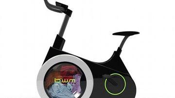 Bicicleta-masina de spalat: arzi calorii si speli in acelasi timp