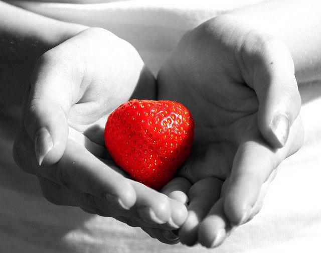 inima capsuna