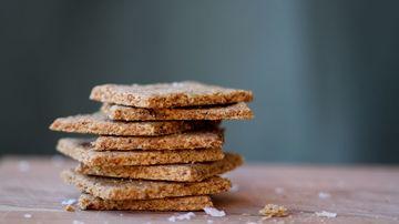 Biscuiti digestivi din quinoa, chia, linte si dovleac