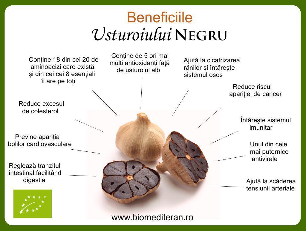 beneficii usturoi negru