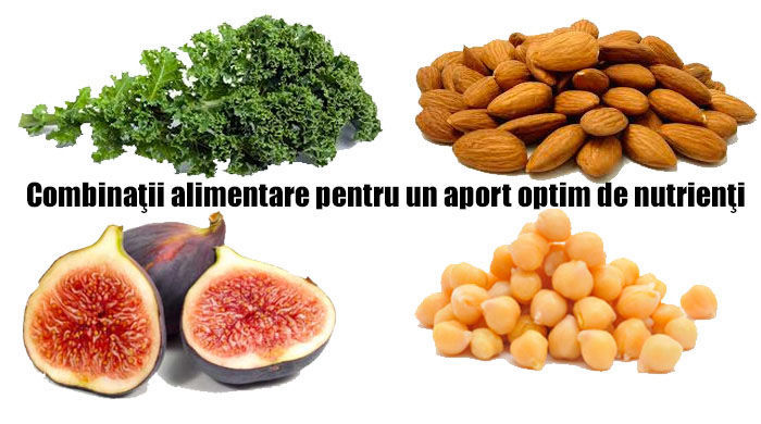 Combinatii optime pentru un aport marit de nutrienti