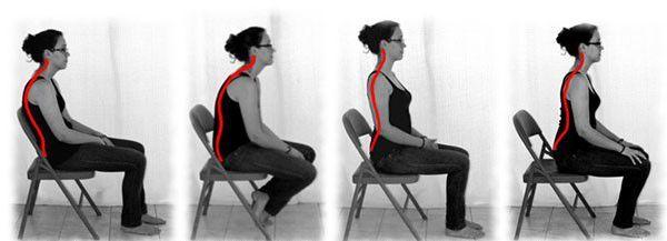 posturi pe scaun