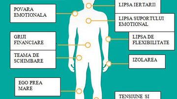 12 tipuri de durere si starile emotionale asociate acestora