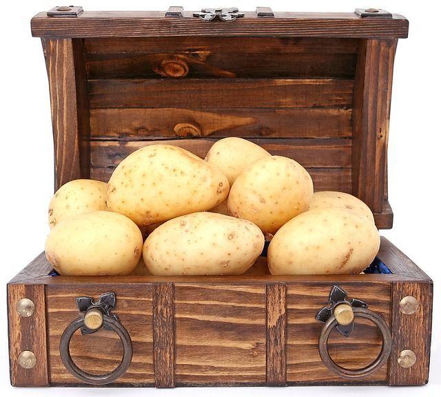 cartofi pentru pielea iritata cu riduri