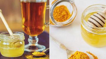 Turmeric cu miere - un antibiotic natural extrem de puternic