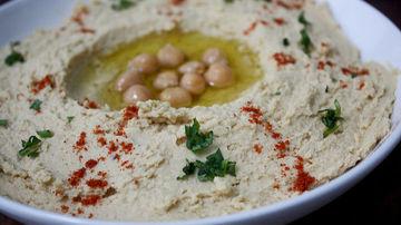 Reteta de humus raw