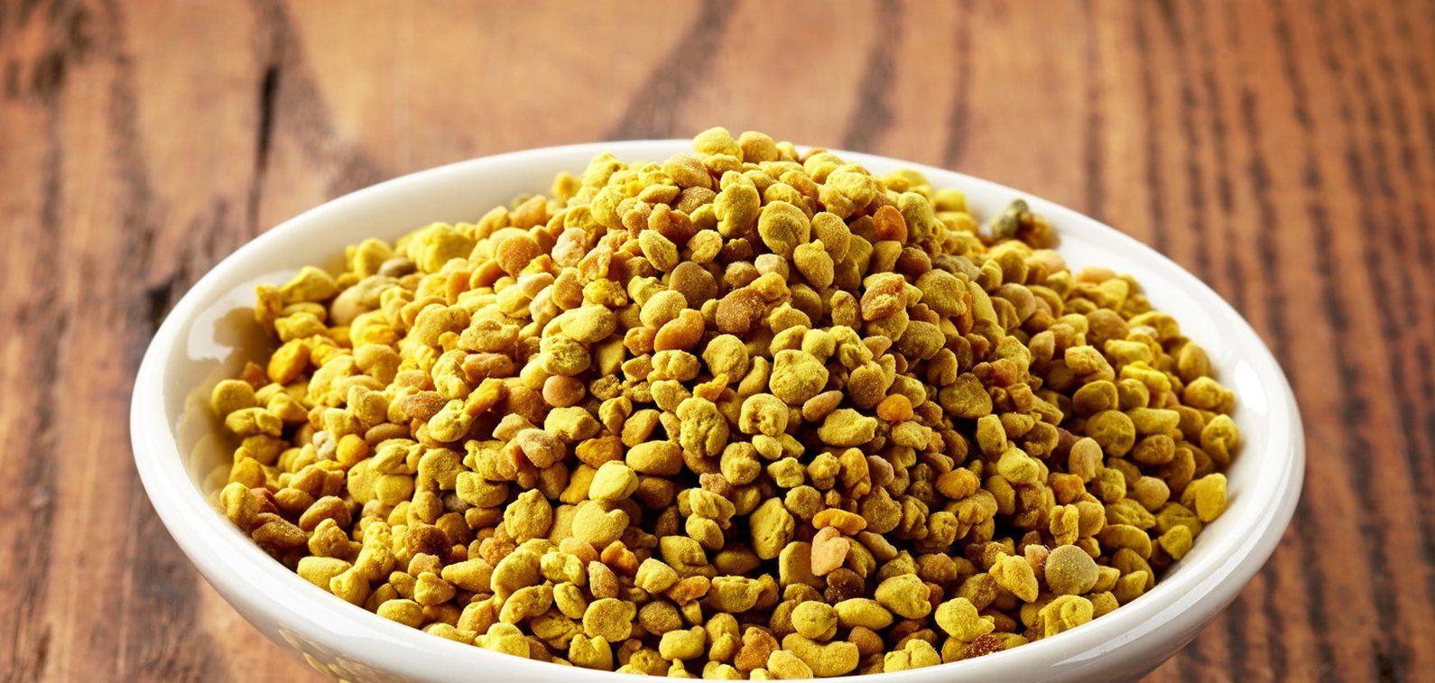 ce este polenul crud