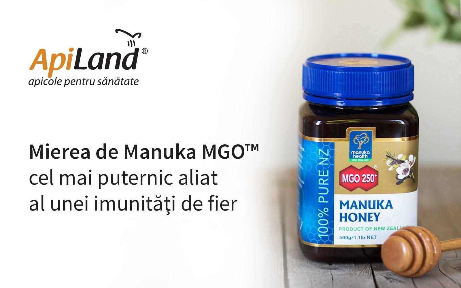 miere de Manuka imunitate