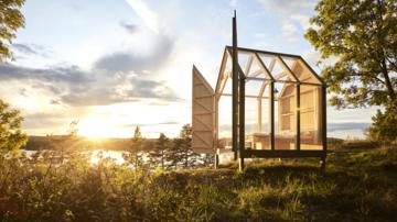 Experimentul cabanei de sticlă - cum deconectarea de cotidian ajută in cazul anxietatii şi depresiei