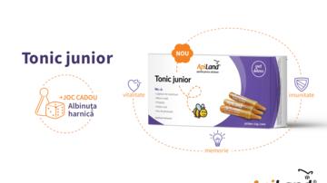 Tonic junior ApiLand - mix de produse apicole creat special pentru copii