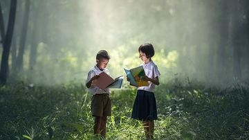 Orele în aer liber stimulează capacitatea de învăţare a copiilor