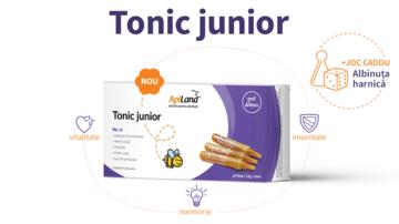 Tonicul junior - mix apicol pentru copii sănătoşi şi energici