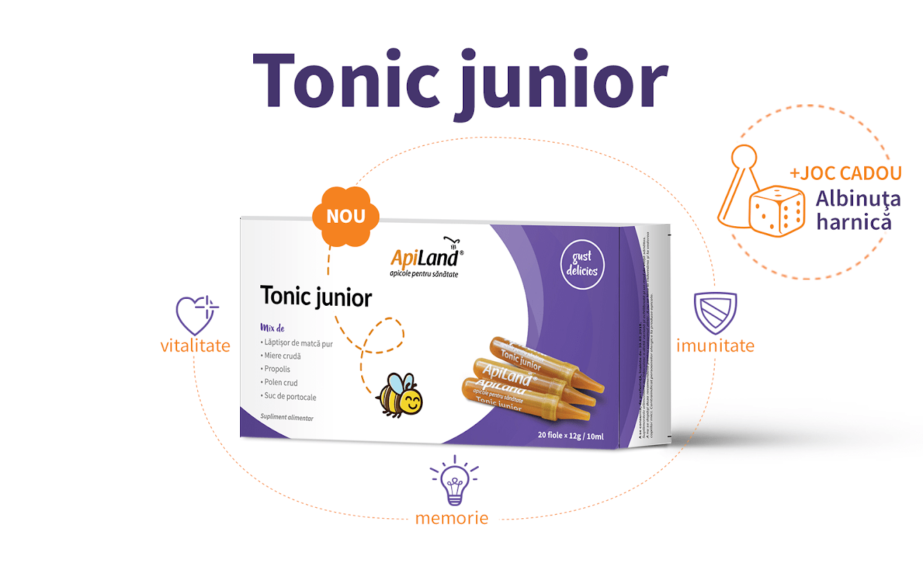 tonic junior Apiland