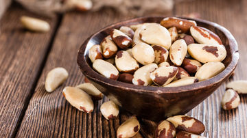 Nucile braziliene - alimentul cel mai bogat în seleniu, care combate inflamaţia