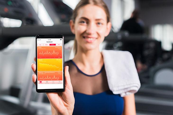 aplicatie de sanatate si fitness pentru android