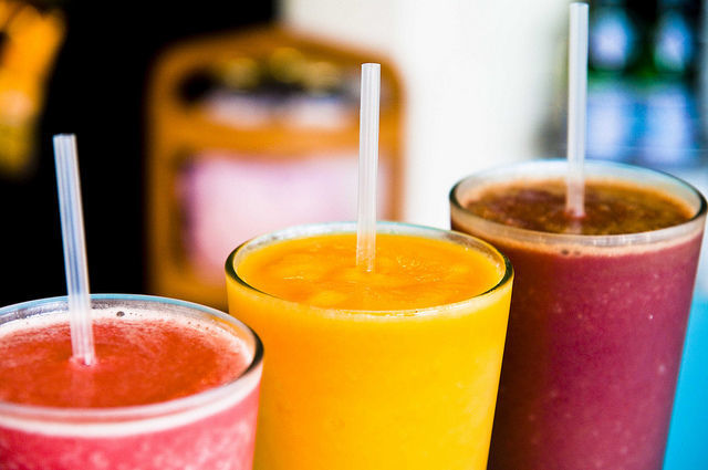 superalimente energizante in smoothie