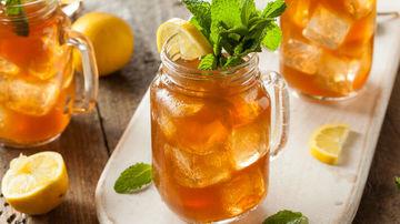 Ice Tea Turmeric Latte