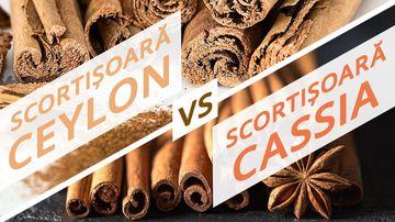 Cum să alegi scorțișoară de calitate? Scorțișoara Ceylon vs Scorțișoara Cassia