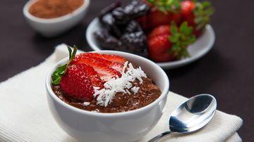 Mousse raw de ciocolată