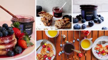 5 Gustări delicioase și sănătoase cu miere bio cu fructe