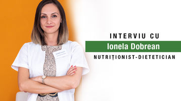 Când alimentația îți poate deveni dușman? Interviu cu Ionela Dobrean, nutriționist-dietetician
