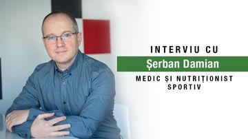 Are nevoie un sportiv de o dietă specială? Despre alimentație și sport cu dr. Șerban Damian, nutriționistul Echipei Olimpice de Baschet Feminin
