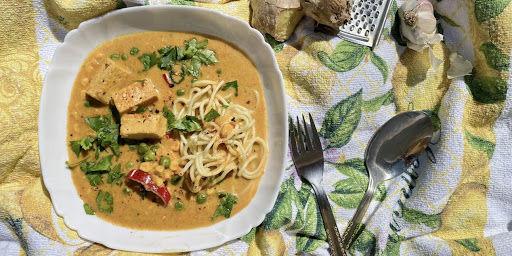 Curry cu unt de arahide