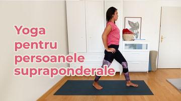 Yoga pentru persoanele supraponderale - sesiune video