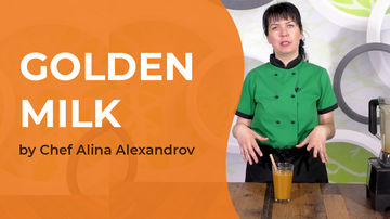 Golden Milk - rețetă video