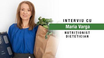 Cum poți slăbi dacă ai un metabolism lent? Interviu cu Maria Varga, nutriționist-dietetician