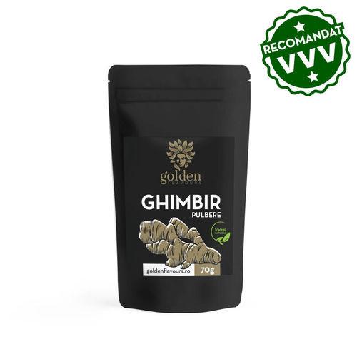 3+1 Gratis Ghimbir pulbere 100% naturală, 70g | Golden Flavours