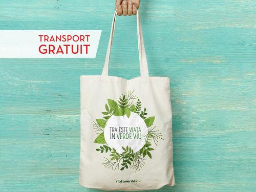 Sacoșa Trăiește Viața Verde Viu