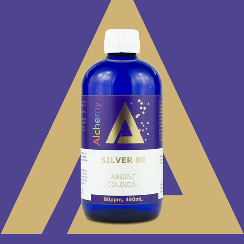 Argint coloidal Silver 80ppm | Pure Alchemy