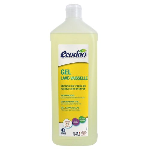 Detergent Lichid Pentru Mașina de Spălat Vase, 1000ml | Ecodoo