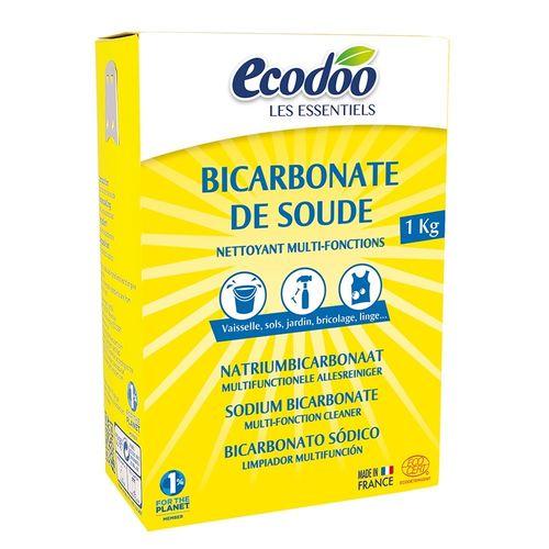 Bicarbonat de Sodiu Pentru Menaj, 1000g | Ecodoo