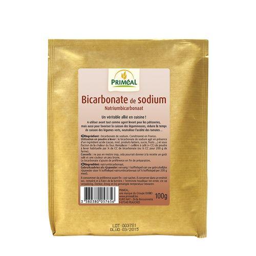 Bicarbonat de Sodiu Alimentar, 100g   Priméal