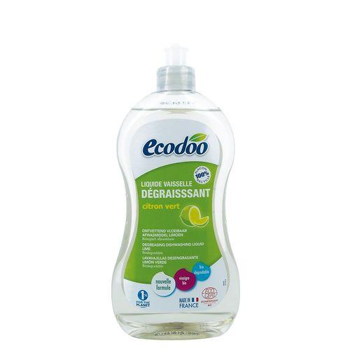 Detergent Bio Vase Ultradegresant cu Oțet și Limeta, 500ml   Ecodoo